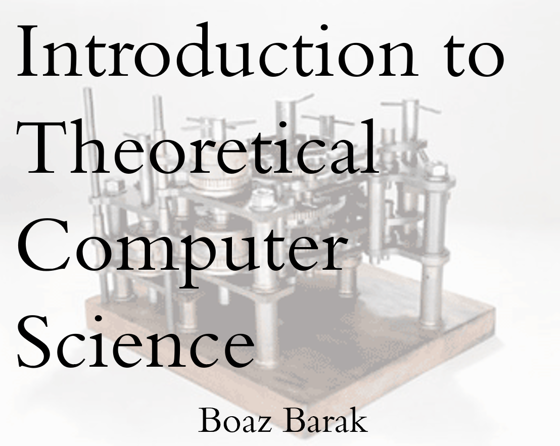 Introduction to Theoretical Computer Science